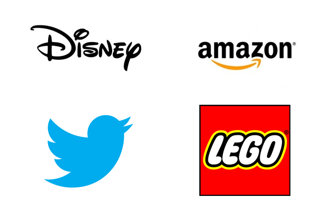 Examples of relevant logos