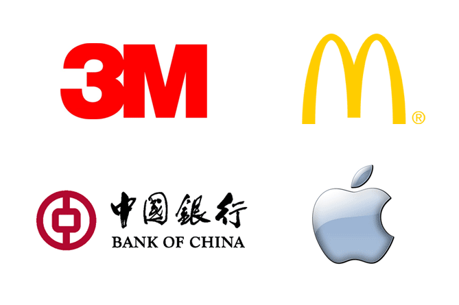 Examples of simple logos
