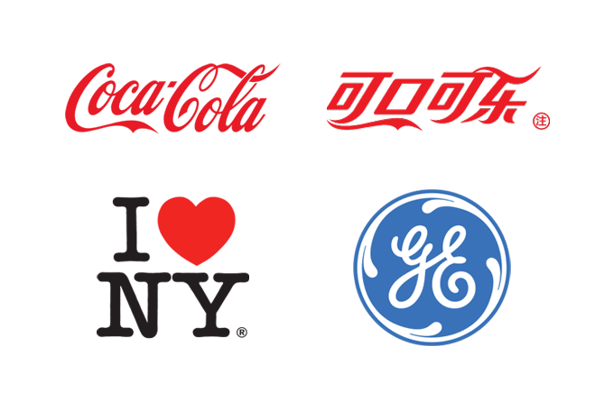 Examples of unique logos